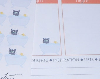 Cat Grooming Stickers