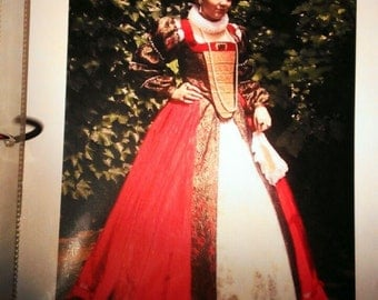 Renaissance dress , custom made , order yours , hand made , movie dress , theatre dress ! Professional done