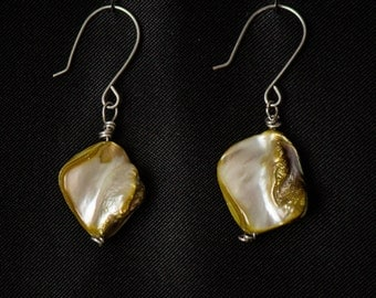 Unique, one of a kind hand crafted earrings.