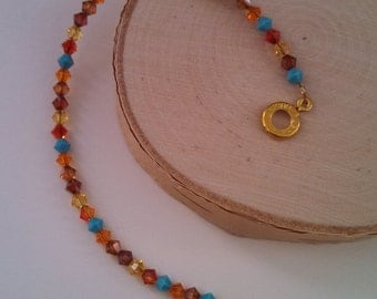 Swarovski layering bracelet - Canyon Road colors!