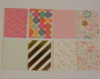 Summer Sherbet Journal Cards