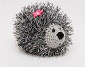 Crochet hedgehog Heart Plush toy Gift for kids Stuff Baby Toys Stuffed Animals Amigurumi Crochet toys Girlfriend gift idea for her kids gift