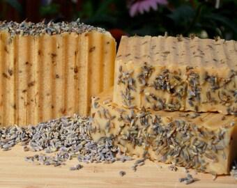 Lavender Goats Milk and Olive Oil Soap