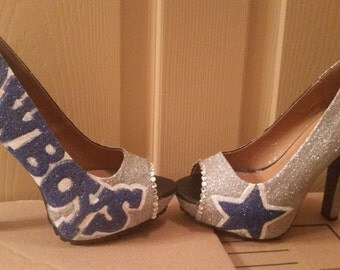 Dallas cowboy shoes homemade