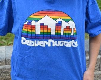 Denver Nuggets Skyline Basketball T-Shirt
