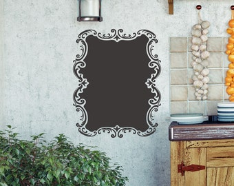 Elegant Vintage Country Style Chalkboard Vinyl Graphic Sticker Decal ~ Item 0302