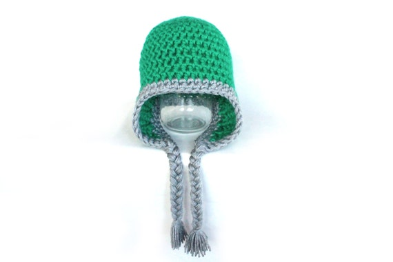 Crochet Chunky Earflap Hat Pattern : Crochet Pattern: Chunky Crochet Earflap Hat in by ...