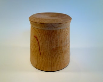 Maple Tea Box, Finished with Foodsafe Oil