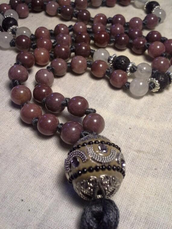 Purple Aventurine SALE 54 Bead Ma...