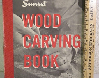 "book-""woodcarving book sunset"" 1977"