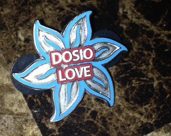 Glow in the dark dosio love pin