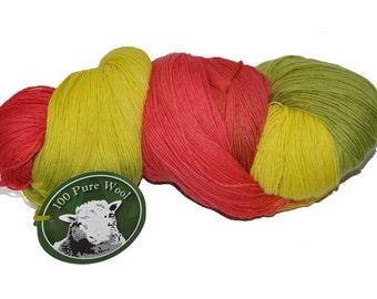PRAIA, hand dyed yarn.