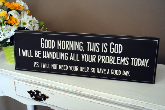 We Don T Need This Religious Cosmopolitanism It S No Good: Good Morning Decor Religious Gifts Distressed By
