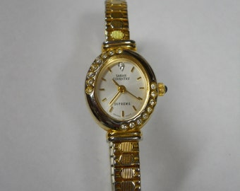 SARAH COVENTRY  Supreme  Wrist Watch with Stretch Band