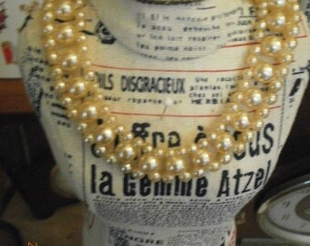 antique/vintage pearl necklace, 1940s-60s