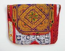 Banjara Bag, Trendy Vintage ipad Bag,messenger bag,Boho,green,Bohemian,bags,coins,tribal shoulder bag,embroidery mirrors OOAK