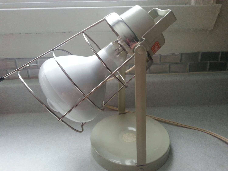 vintage solar lamp tanning lamp made by by izabelvintageshop. Black Bedroom Furniture Sets. Home Design Ideas