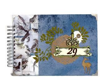 Photo Album - Gift For Him - Anniversary Gift - Husband Gift - Eco Friendly Gift For Boyfriend - Birthday Gift For Husband - Unique Gift