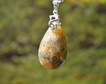 Natural Labradorite Healing Stone Necklace