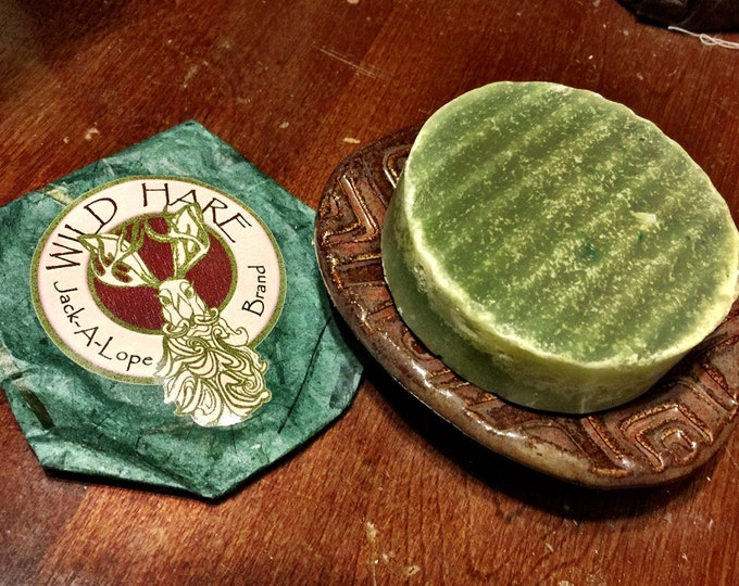Featured listing image: Jack-A-Lope Beard Soap