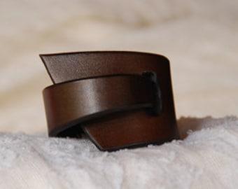 Dark Chocolate Cuff