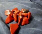 Red Jasper - Crystal Grid - Root Chakra - Tumbled Stones