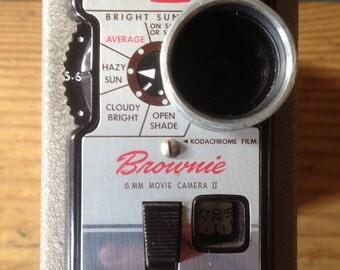 1950s Kodak Brownie 8mm movie camera