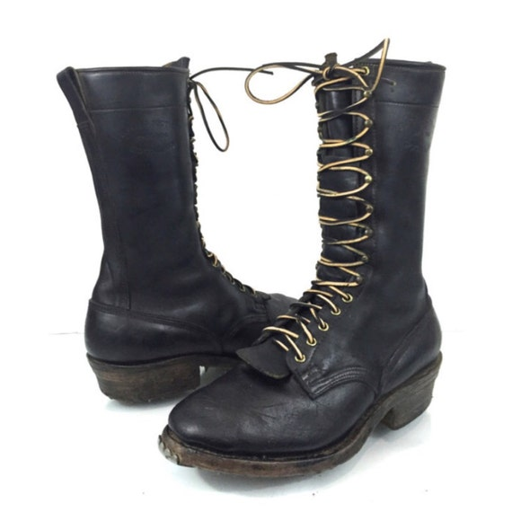 vintage buffalo boot co by white s black by