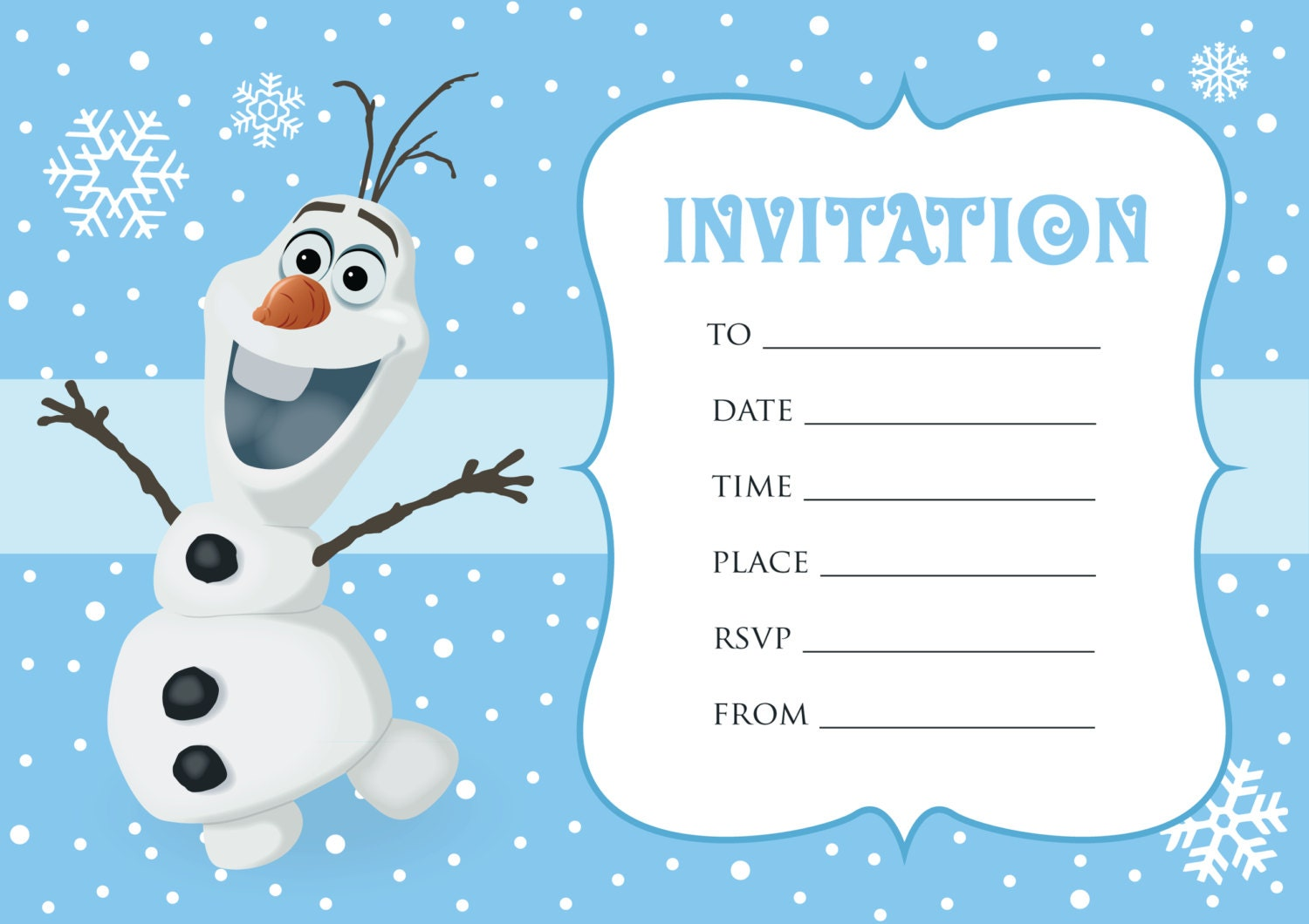Birthday Invitation Frozen was great invitation design