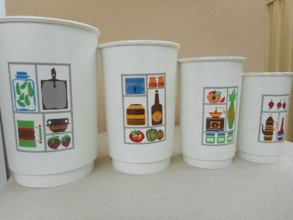 reserved please do not order funky kitchen canister set