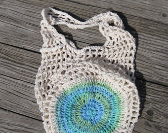 Reusable Bag - Cotton Bag - Market Bag - Beach Bag - Mesh Bag - Crochet Bag