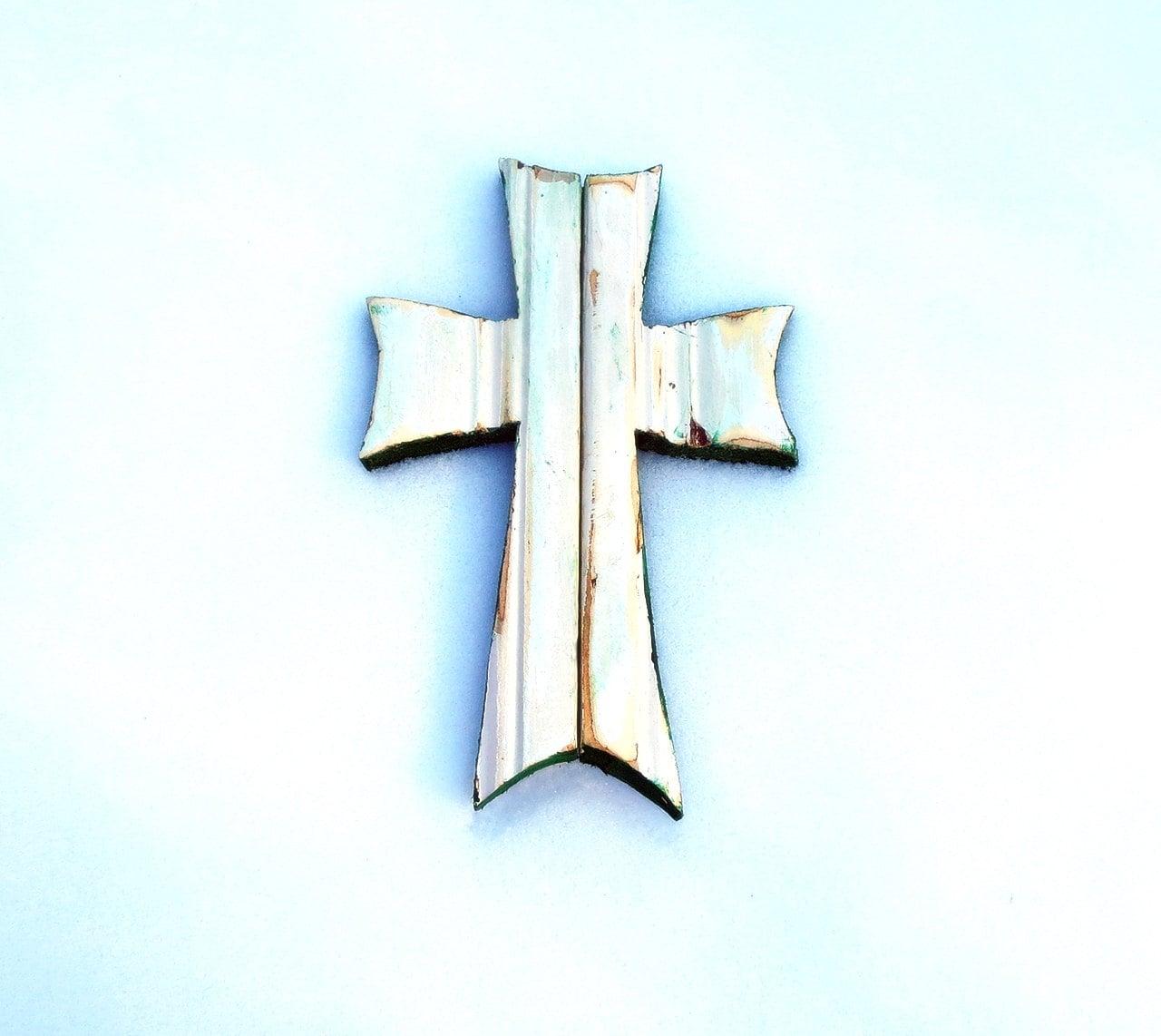 Wooden Cross Religious Wall Decor Wood Wall Cross Rustic