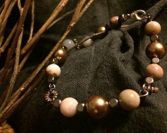 Earth-tone Bracelet...