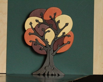 Wooden Tree Puzzle