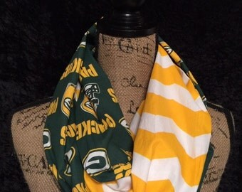 Green Bay Packers NFL  Infinity Scarf