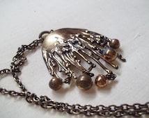 vintage Scandinavian Pentti Sarpaneva designer necklace statement piece Finland