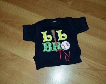 personalized lil bro tshirt