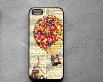 Travel by air Balloon iPhone 4 / 4s / 5 / 5s /5c case, iPhone 6 /6 Plus case, Samsung Galaxy S3 / S4 / S5 case, Note 2, Note 3, Note 4 case