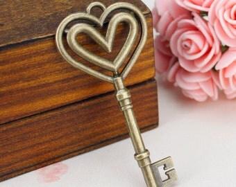 8 pcs Antique Silver Skeleton Key Charms 75x25mm CH0264,DIY Supplies 69*31mm -XS2515-HJ24