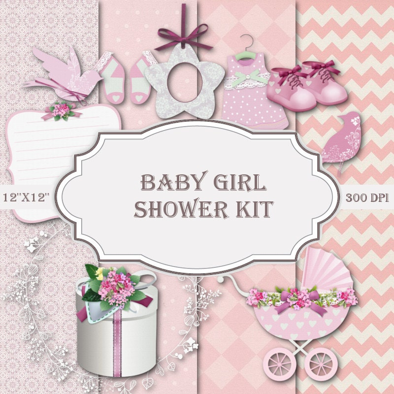 baby girl clipart shower - photo #43