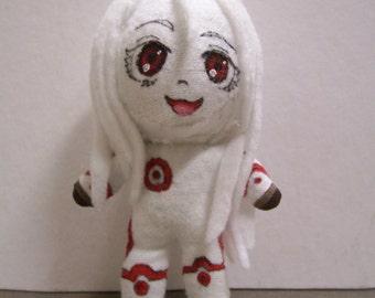 Shiro Ornament: Deadman Wonderland handmade