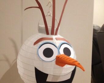 Olaf paper lantern diy kit