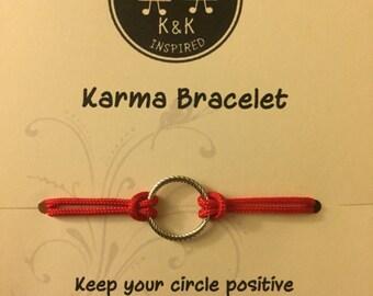 Red Karma Bracelet