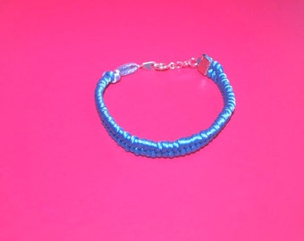 Fishtail Cotton Cord Bracelet