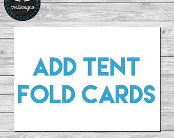 Add Tent Fold Cards