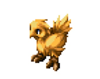 Chocobo from Final Fantasy Tactics Cross stitch pattern