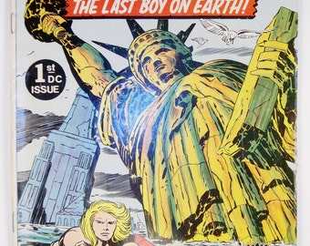 Kamandi Comic Book #1 DC Comics Oct/Nov 1972
