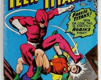 Teen Titans Comic Book #5 DC Comics - Sep/Oct 1966