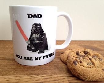 star wars mug dad you are my father