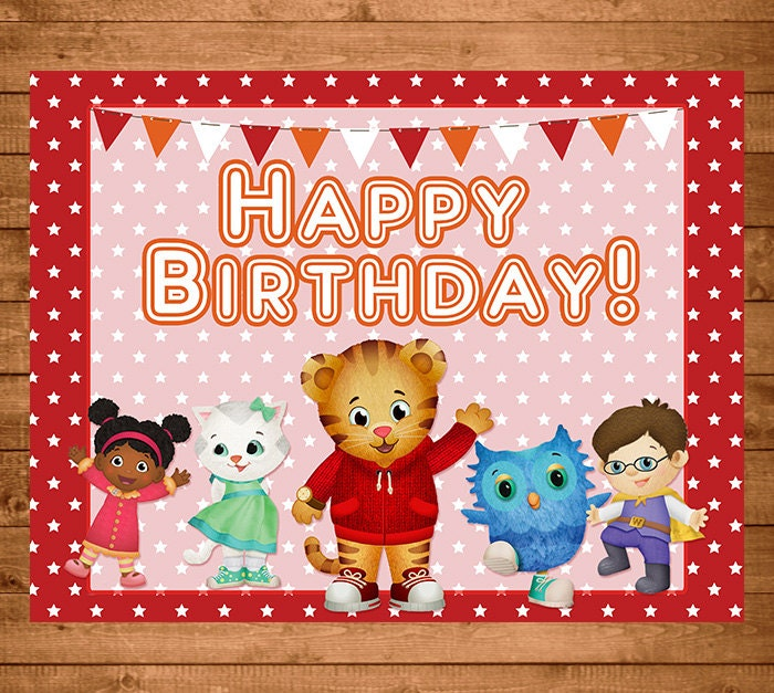 Tiger birthday card – How to Sign a Birthday Card